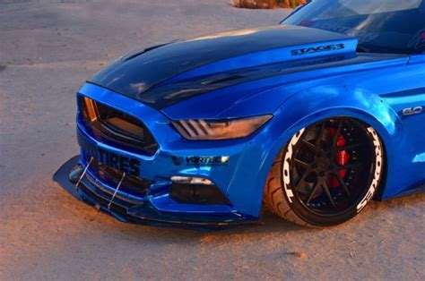 2015 ford mustang blue chrome soto 26   The Mustang Source