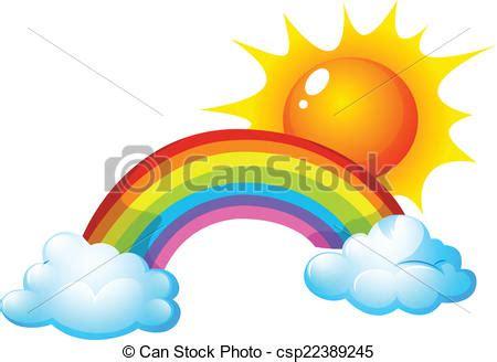clipart arcobaleno sole arcobaleno arcobaleno illustrazione sole vettore