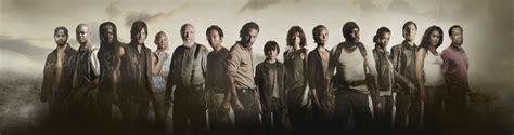 Poster Serial Tv The Walking Dead Cast 40x60cm the walking dead fear the living the collective