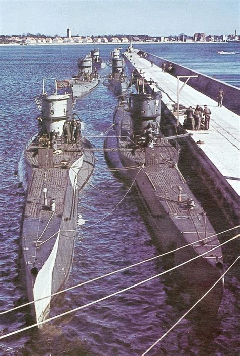 german u boat harbour world war ii in pictures u boats scourge of the seas