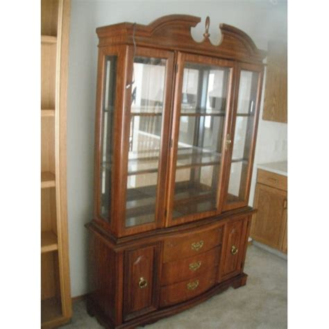 Cherry Dining Room China Cabinet Dining Room China Hutch Cherry Finish Allsold Ca Buy
