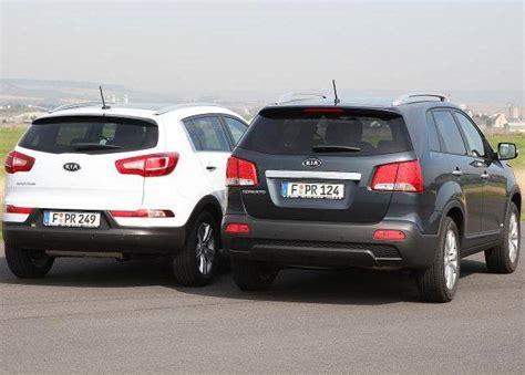 Compare Kia Sportage And Sorento Kia Sorento Vs Kia Sportage Autos Post