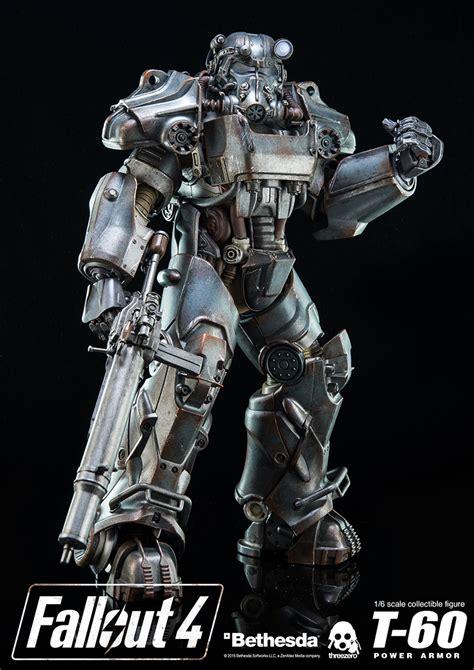 fallout 4 armor fallout 4 t 60 power armor figure by threezero the toyark news