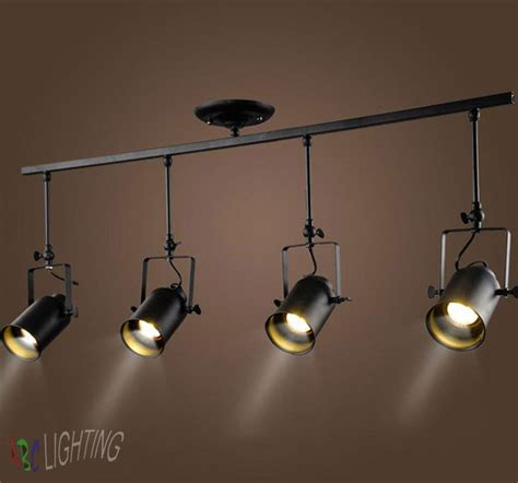 vintage american ceiling mounted lighting clothing show