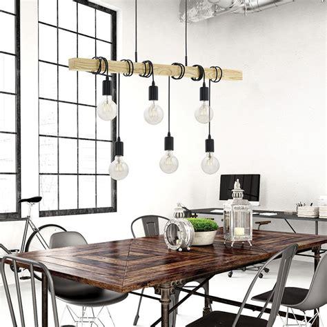eglo townshend 6 light bar ceiling pendant lighting direct