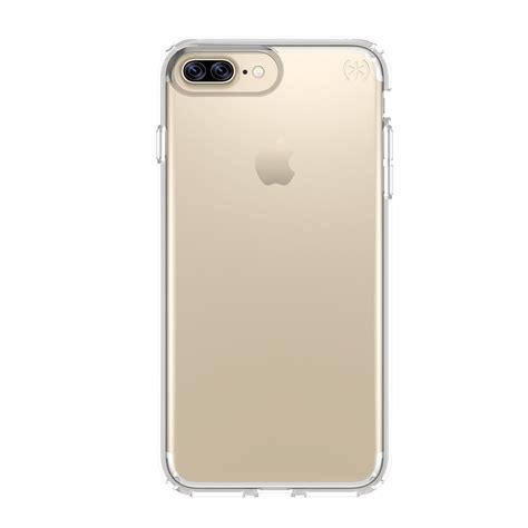 Transparent Protective Hardcase Iphone 7 8 Merah presidio clear iphone 7 plus cases