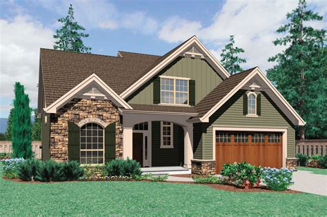 craftsman style house plan 3 beds 2 5 baths 2164 sq ft