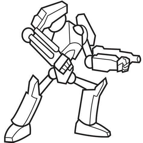 robot coloring pages for toddlers coloring pages