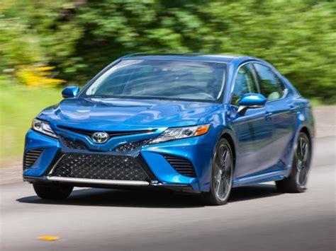 Blue Toyota Camry Drive 2018 Toyota Camry Xse V6 Ny Daily News