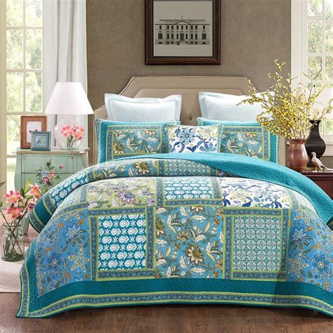 blue bohemian bedding boho chic bedding sets bohemian style bedding are comfy