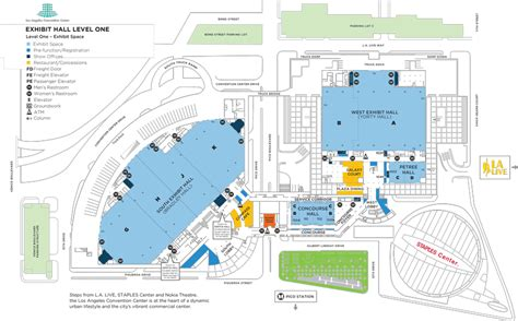 los angeles convention center floor plan image gallery lacc entrance