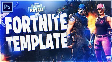 fortnite thumbnail template fortnite battle royale thumbnail template free