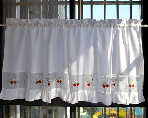 strawberry kitchen curtains popular strawberry kitchen curtains buy cheap strawberry