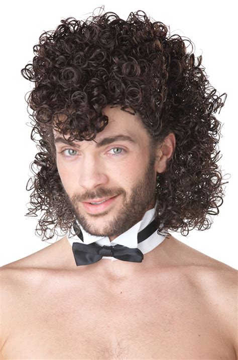 halloween curly hairstyles girl s night out costume wig brown purecostumes com