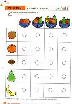 beste afbeeldingen van school thema groenten fruit
