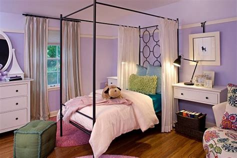 purple girls bedroom decorating with purple purple rooms designs