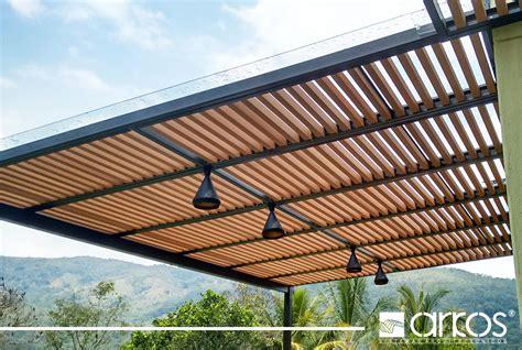 cobertizo para jardin mexico estructura en ecowood tipo cortaos para cubierta en