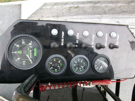 220 gpu aircraft gauge panel hourmeter with 9 hours - Airboat Gauge Panel