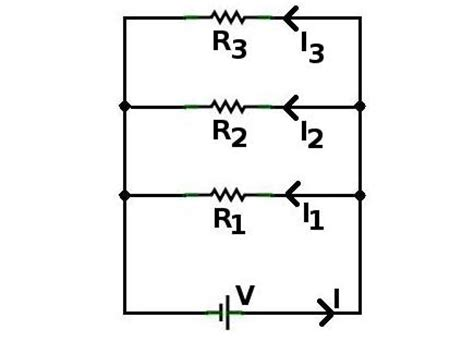 current division in parallel resistors current divider electronics tutorials