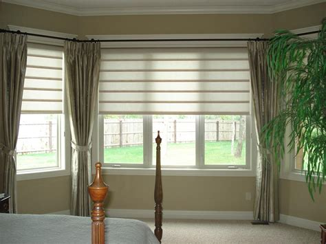 window shade ideas ideas for bay window blinds home intuitive