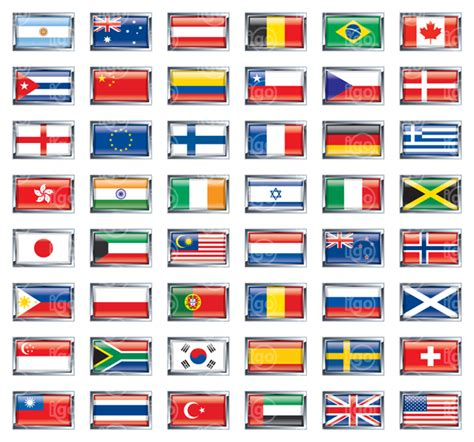 flags of the world by country igoflags world flags flag images vector icons banners