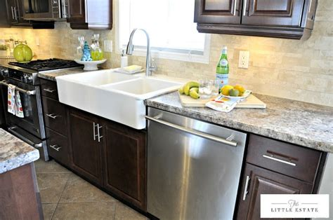 Farmhouse Sink Laminate Countertop by Pin By Ford On Kitchen Makeover