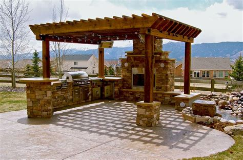 back yard kitchen ideas outdoor kitchen ideas barbecue grills pergola