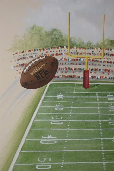 Rush The Field Wall Mural football wall murals for kids home design