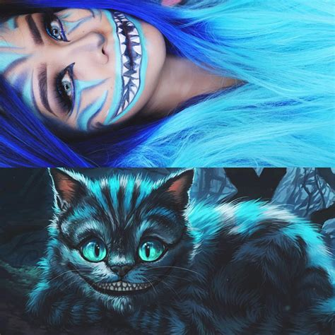 Cheshire Cat Blue 2nd look holla blue cheshire cat inspired it