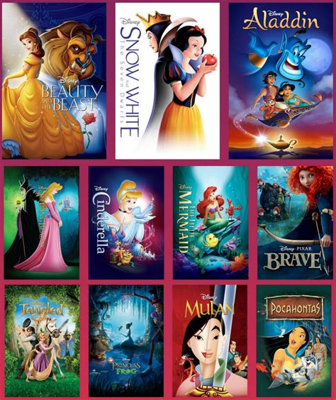 film studios disney for a limited time get all 11 disney princesses in one place