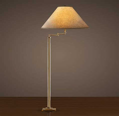 floor ls swing arm antique brass 48 best images about living room chestnut hill on