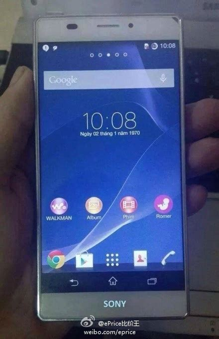 Hp Sony Xperia Z3 Replika update it s a a mysterious sony device with slim bezels shows up on the