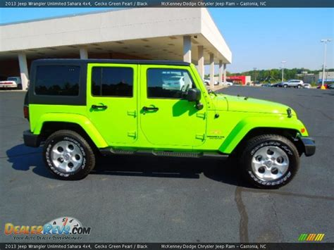 gecko green jeep 2013 jeep wrangler unlimited gecko green