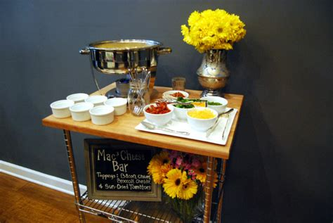 macaroni bar toppings mac and cheese bar catering blog paramount events