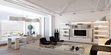 Amazing loft apartment designed by grosu art studio and located in