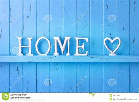 home blue background stock photo image 46747096