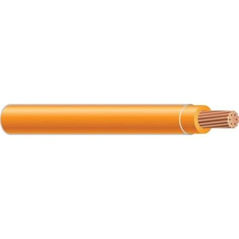 home depot electrical wire southwire 500 ft 8 orange stranded thhn wire 23849312