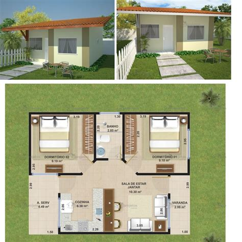 projetos de casas plantas e projetos de casas populares gr 225 tis 50 modelos