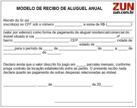modelo de recibo ingles quotes modelos recibos aluguel confira portal