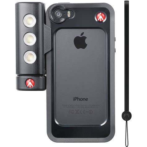 manfrotto klyp case  smt light  iphone
