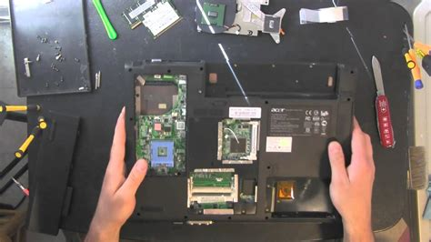 reset battery laptop software acer travelmate 4010 laptop take apart video disassemble