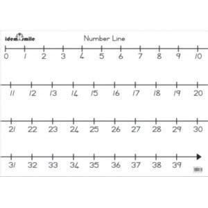 giant printable number line 6 best images of large printable number line printable