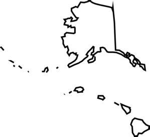 alaska hawaii map clip at clker vector clip
