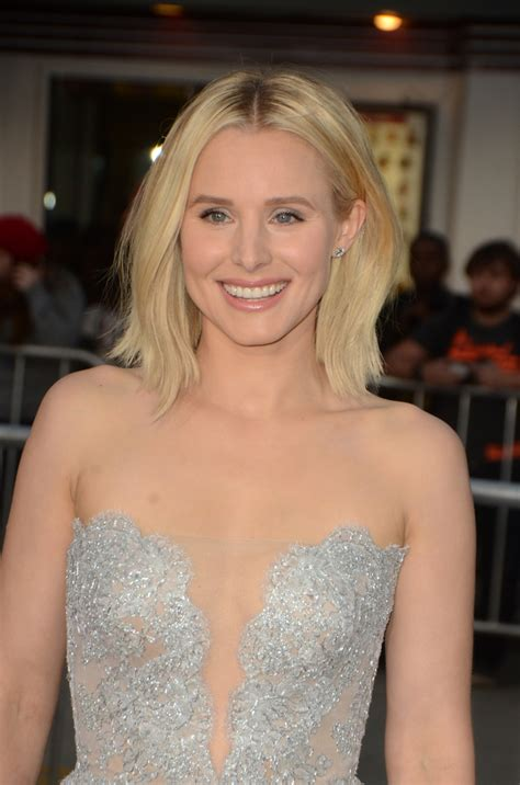 kristen bell bangs 2016 kristen bell s hairstyles over the years