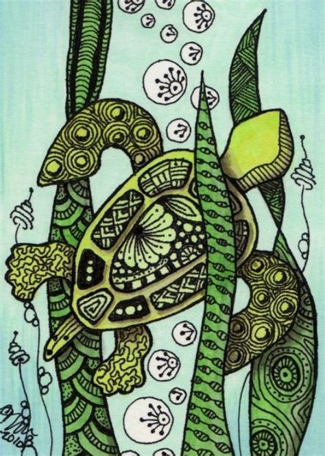 zentangle pattern wadical 48 best zentangle turtles images on pinterest drawings