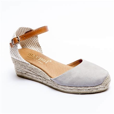 espadrille sandals espadrille co uk grey low wedge espadrilles s