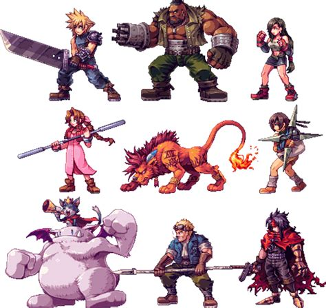 jrpg characters look so good as 2d sprites kotaku australia