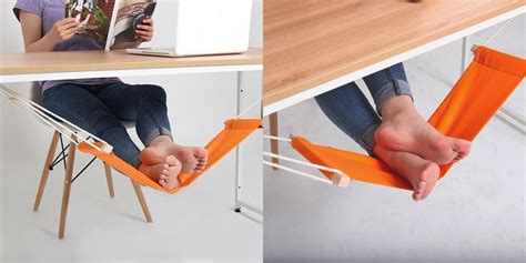 leg hammock for desk product of the week feet hammock for your desk