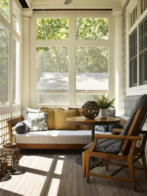 Design For Screened Porch Furniture Ideas 20 Small And Cozy Sunroom Design Ideas Home Design And Interior