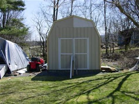 Add A Lean To Onto A Shed by Creating A Lean To On To An Existing Gambrel Shed